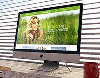 Website Design for Go Naturals
