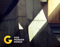 Good Morning Norway identity