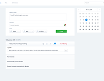 Plan a meeting web app