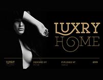 LUXURY HOME Typeface