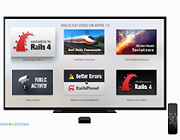 View Rails Casts Videos on Apple TV