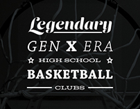 Legendary Gen X High School Basketball Clubs