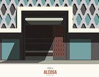 Valencia Se Ilustra - Edificio Alcosa