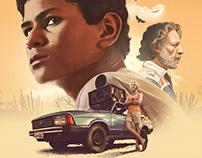 "Illustration / Poster Design ""Filho de Boi"""