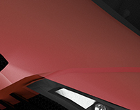 AudiR8 - Modelo lowpoly para un videojuego.