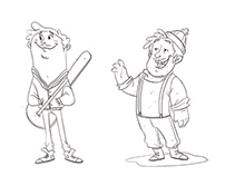 Character Design - personal studies