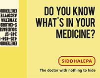 Siddhalepa campaign idea