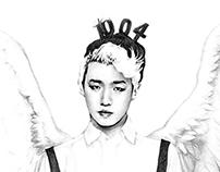 Beautiful People (K-Pop Drawings by a Fan)