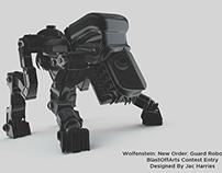 Wolfenstein: New Order: Guard Robot Model