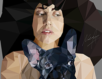 JAZZ DIVA | LADY GAGA AND ASIA | Low-poly