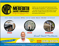 Meredith Painting & Improvements Website