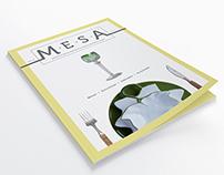 Revista Mesa - 1ª Edição