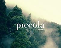 Piccola. Joyería. Branding