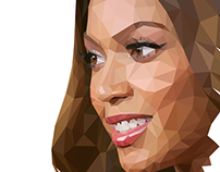 Beyonce - Triangulation Vector
