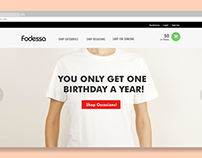 Fodessa e-commerce Web Design