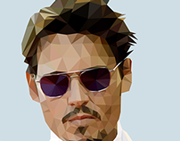 Johnny Depp - Triangulation Vector