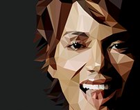 Halle Berry - Triangulation Vector