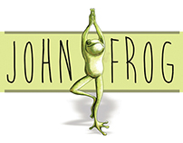 John Frog Stationery Branding