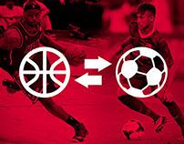 NBA x Soccer Uniform Mashup