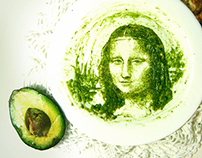 Retratos con palta (aguacate) // Portraits with avocado