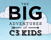 Big Adventures of C3 Kids Illustrations