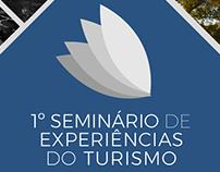 Branding para o 1º Seminário de Experiências do Turismo