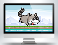 Raccoon Animation Sprite Sheets