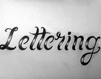 Lettering warm up