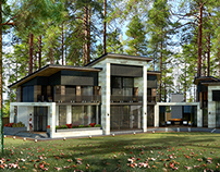 The project of a private residence