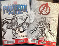 Marvel Varient Comic Book Covers