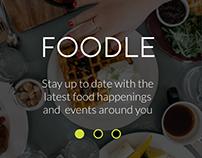 DECO3500 - Foodle app mockups
