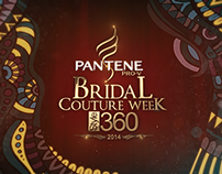 Bridal Couture Week 2014 title & packaging