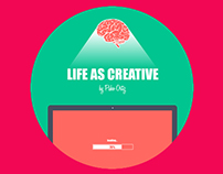 My new cv/portfolio - Life as Creative by Pako Ortiz