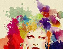 splash of color No.1