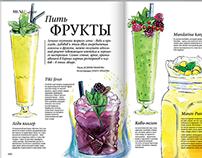 Summer cocktails for DressCode magazine