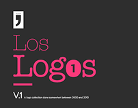 Los Logos - v1 - 15 Logos CI Brands and Dark Typefaces