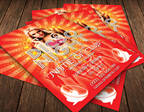 Disco Night Flyer Template
