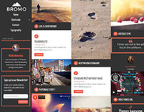 Bromo - Responsive Grid Blog Theme