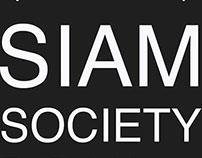 Siam Society, Restaurant. // Web Design