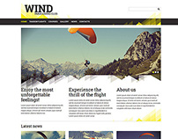 Creative Paragliding Responsive Joomla Template