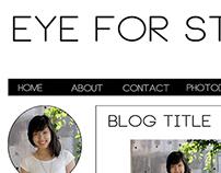 Blog Design Plan