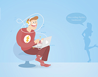 Speed Coding (social media art)