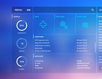 UI/UX - VobeSoft Dashboard