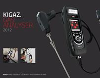 Kimo / Kigaz gas analyser