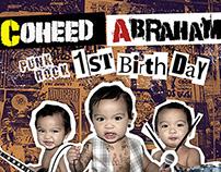 Coheed Abraham's 1st Birthday