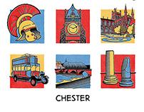 Chester Comic Illustration