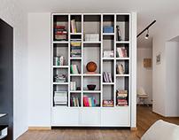 ASYMETRIA bookcase