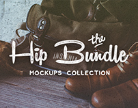 Hip Bundle: mock-ups & hero images collection