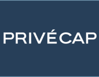 PrivéCap Logotype and Landing Page