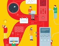Yandex infographics and illustrations